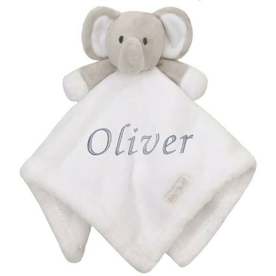 This is the white and grey elephant version of the comfort blanket