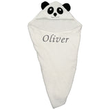 Personalised Baby Hooded Towels