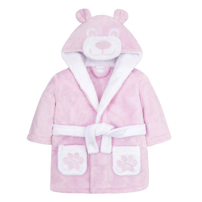 This is the pink version of the baby bear robe