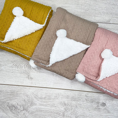 Beautiful, custom blankets for newborns can make a big difference