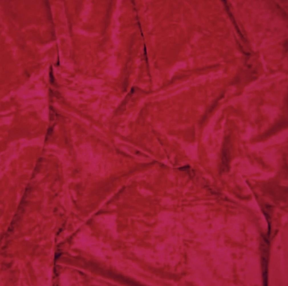 CV1011 Wine Crushed Velvet
