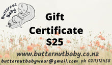Load image into Gallery viewer, Butternutbaby Gift Card.