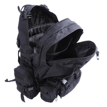 55L Outdoor Military Molle Tactical Backpack Rucksack Camping Bag Travel Hiking xcceries
