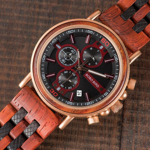 BBWood™ Men's Genuine Wooden Chronograph Watch Wood Watch BBWood™ Fashion