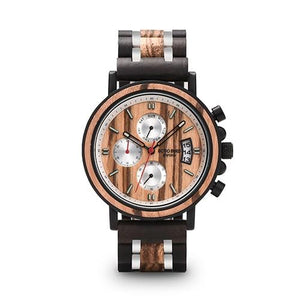 BBWood™ Men's Genuine Wooden Luxury Military Quartz Vintage Wrist Wood Watch wood watch BBWood™ Fashion Oak