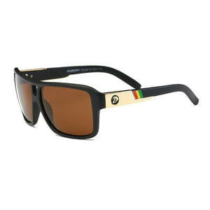 DGen™ Men's Polarized Sunglasses sunglasses DGen™ Fashion Black w/ Brown Lens