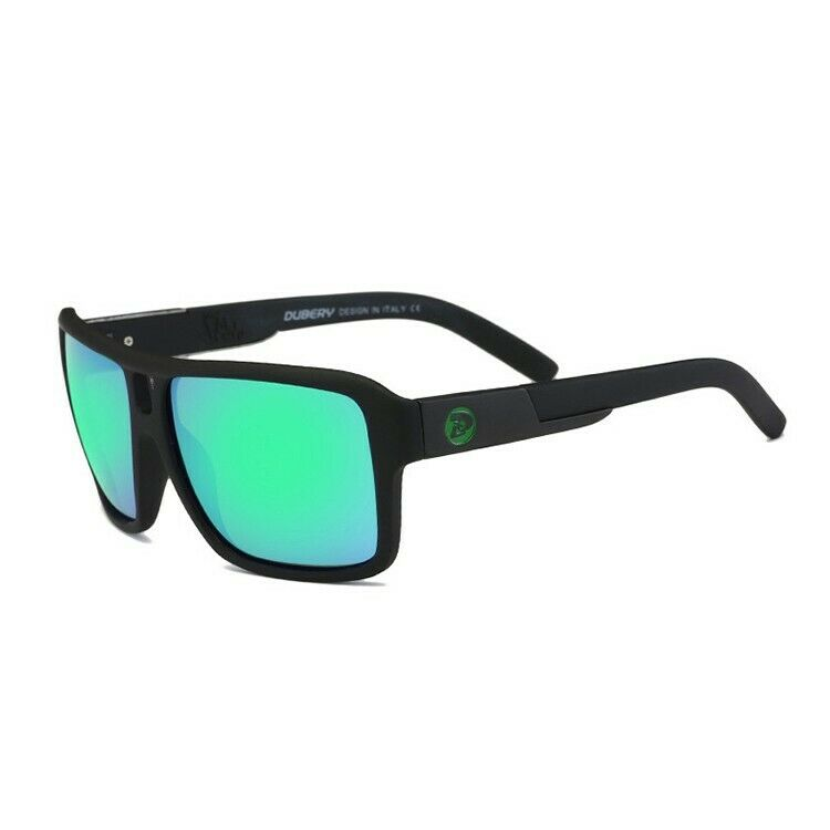 DGen™ Men's Polarized Sunglasses sunglasses DGen™ Fashion Black w/ Green Lens