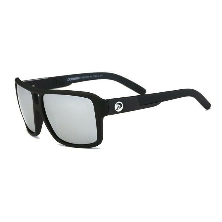 DGen™ Men's Polarized Sunglasses sunglasses DGen™ Fashion Black w/ Silver Lens