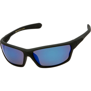 DPElite™ Men's Anti-Glare Polarized Sports Sunglasses sunglasses DPElite™ Fashions Black Matte Rubberized | Blue Mirror