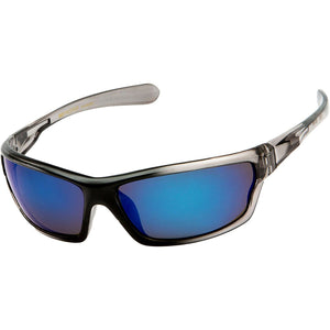 DPElite™ Men's Anti-Glare Polarized Sports Sunglasses sunglasses DPElite™ Fashions Clear Black Smoked | Blue Mirror