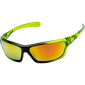 DPElite™ Men's Anti-Glare Polarized Sports Sunglasses sunglasses DPElite™ Fashions Green | Red Mirror
