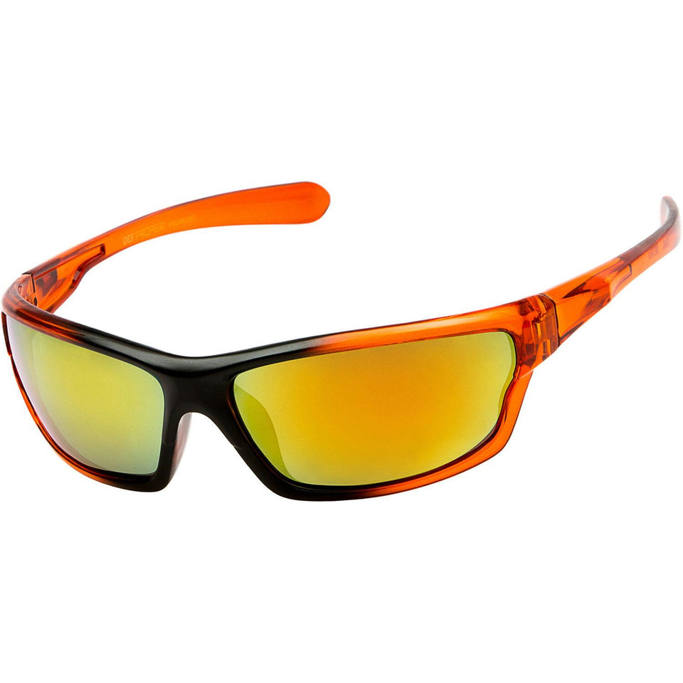 DPElite™ Men's Anti-Glare Polarized Sports Sunglasses sunglasses DPElite™ Fashions Orange | Red Mirror