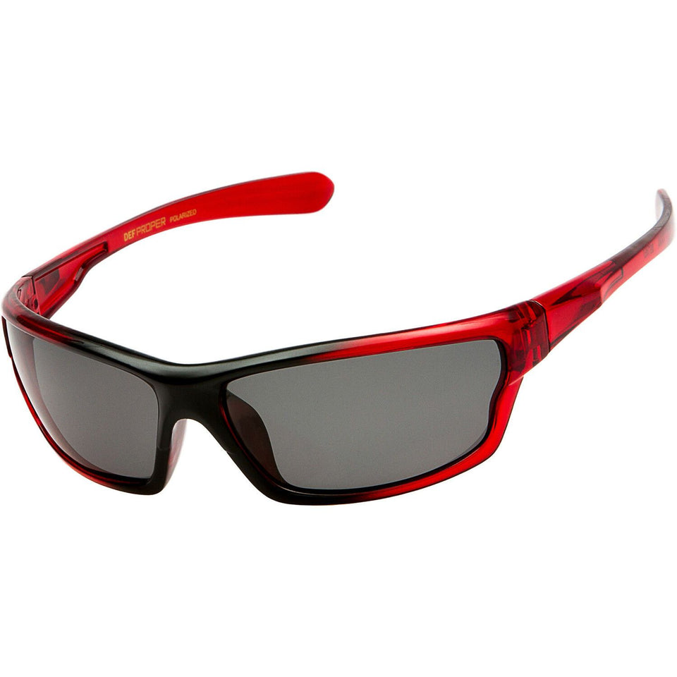 DPElite™ Men's Anti-Glare Polarized Sports Sunglasses sunglasses DPElite™ Fashions Red | Smoke