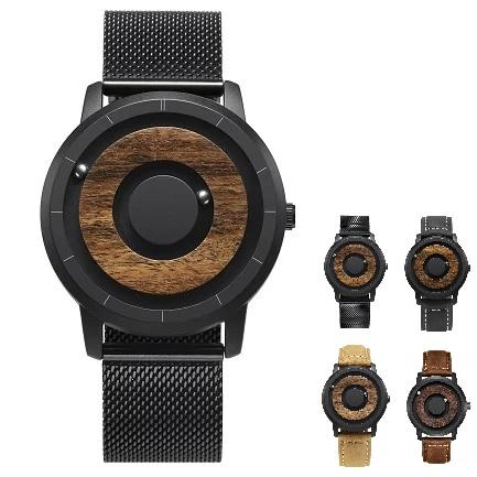 ECO™ Men's Wooden Magnetic Dial Watch Casual Watch ECO™ Fashion