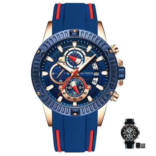 MFPro™ Men's Blue Casual Sports Quartz Waterproof Wrist Watch Casual Watch MFPro™ Fashion