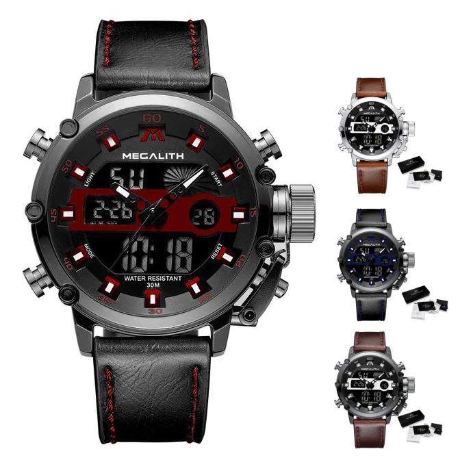 MGLX™ Men's Business Sport Military Quartz Luminous Wrist Watch business watch MGLX™ Fashion