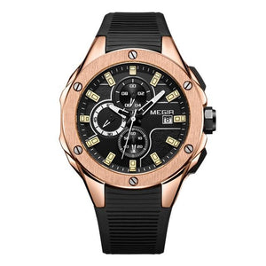 MGR™ Men's Stylish Sports Watch Casual Watches MGR™ Fashion Rose black Poland