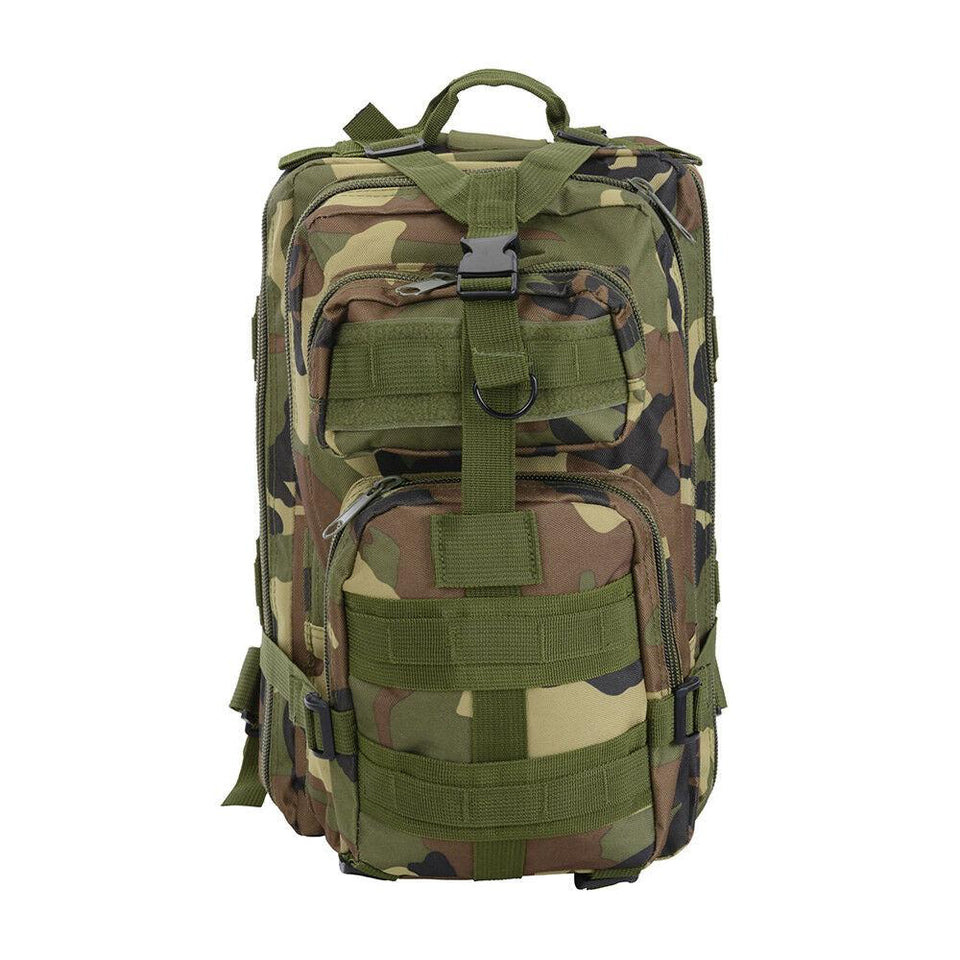 MRoyale™ 28L Military Tactical Army Molle Assault Backpack tactical MRoyale™ Fashion Woodland Camouflage