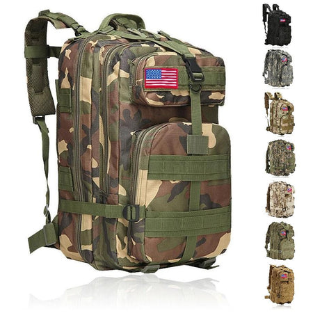 MRoyale™ 40L Military Tactical Army Molle Rucksack Assault Backpack tactical bag MRoyale™ Fashion