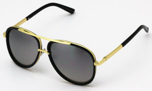 MRoyale™ Elite Men's Aviator Sunglasses sunglasses MRoyale™ Fashion Gold Frame / Silver Mirror