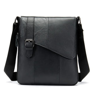 MRoyale™ Men's 100% Leather Crossbody Messenger Satchel Shoulder Bag Home MRoyale™ Fashion 8240A4black CHINA