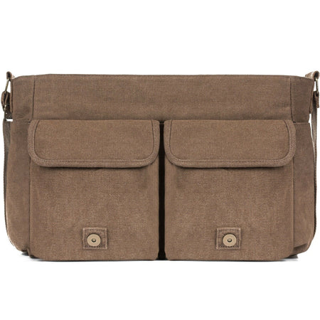 MRoyale™ Men's Canvas Vintage Crossbody Laptop Messenger Satchel Bag crossbody MRoyale™ Fashion