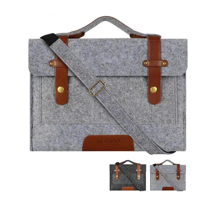 "MRoyale™ Men's FELT 13"" Laptop Messenger Crossbody Satchel Shoulder Bag crossbody MRoyale™ Fashion"
