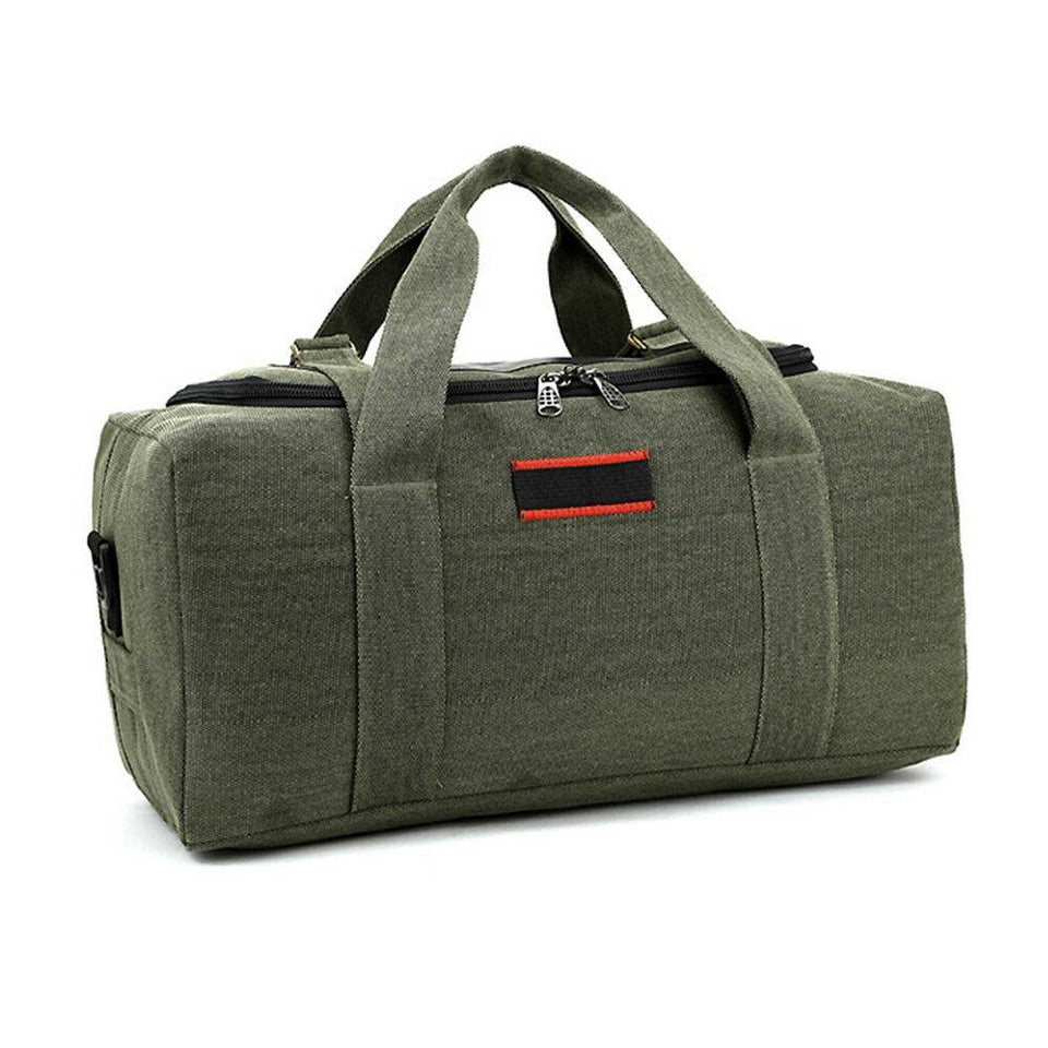 MROYALE™ Men's Military Canvas Duffle Weekender Overnight Travel Bag Bags MRoyale™ Fashion