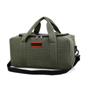 MROYALE™ Men's Military Canvas Duffle Weekender Overnight Travel Bag Bags MRoyale™ Fashion Brown 22""