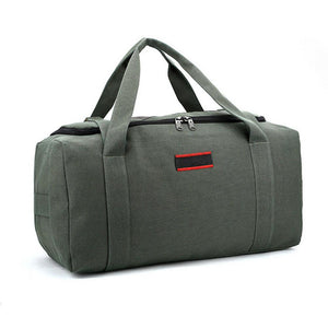 MROYALE™ Men's Military Canvas Duffle Weekender Overnight Travel Bag Bags MRoyale™ Fashion Green 22""