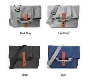 "MRoyale™ Men's Oxford Crossbody 13"" Laptop Messenger Satchel Bag Crossbody Bags MRoyale™ Fashion"