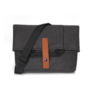 "MRoyale™ Men's Oxford Crossbody 13"" Laptop Messenger Satchel Bag Crossbody Bags MRoyale™ Fashion Black"