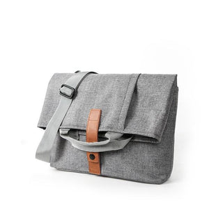"MRoyale™ Men's Oxford Crossbody 13"" Laptop Messenger Satchel Bag Crossbody Bags MRoyale™ Fashion Dark Gray"