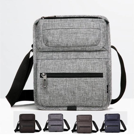 MRoyale™ Men's Oxford Crossbody Messenger Satchel Shoulder Tablet Bag crossbody bag MRoyale™ Fashion