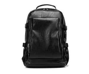 MRoyale™ Men's Retro Leather USB Charging Backpack Backpacks MRoyale™ Fashion