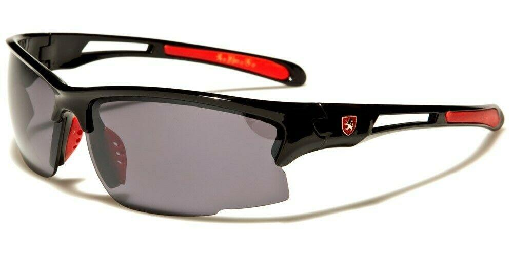 MRoyale™ Men's Sports Impact Resistance Sunglasses sunglasses MRoyale™ Fashion Black w Red