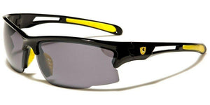 MRoyale™ Men's Sports Impact Resistance Sunglasses sunglasses MRoyale™ Fashion Black w Yellow