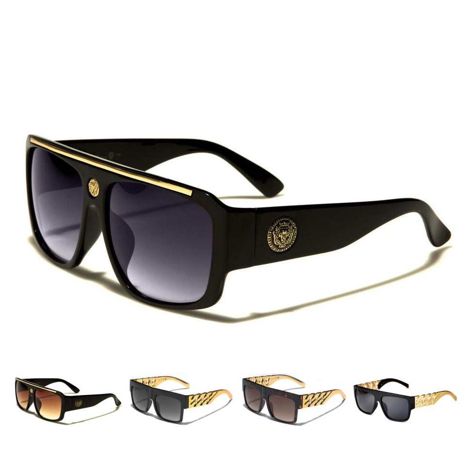 MRoyale™ Men's Square Frame Polycarbonate Sunglasses MRoyale™ Fashion