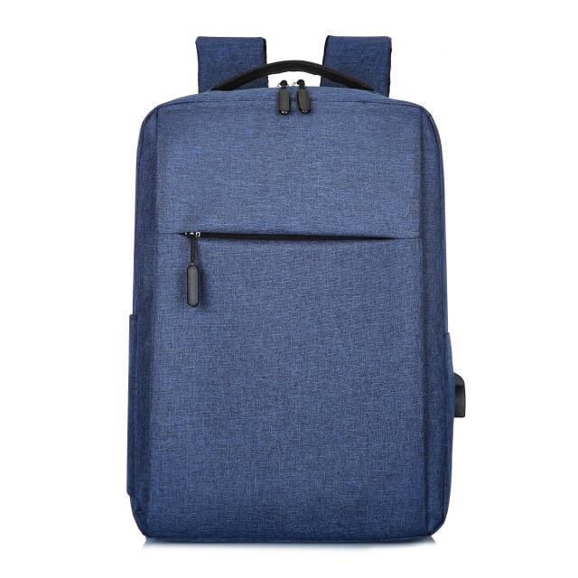 MRoyale™ Men's USB Charging Backpack Backpacks MRoyale™ Fashion Blue
