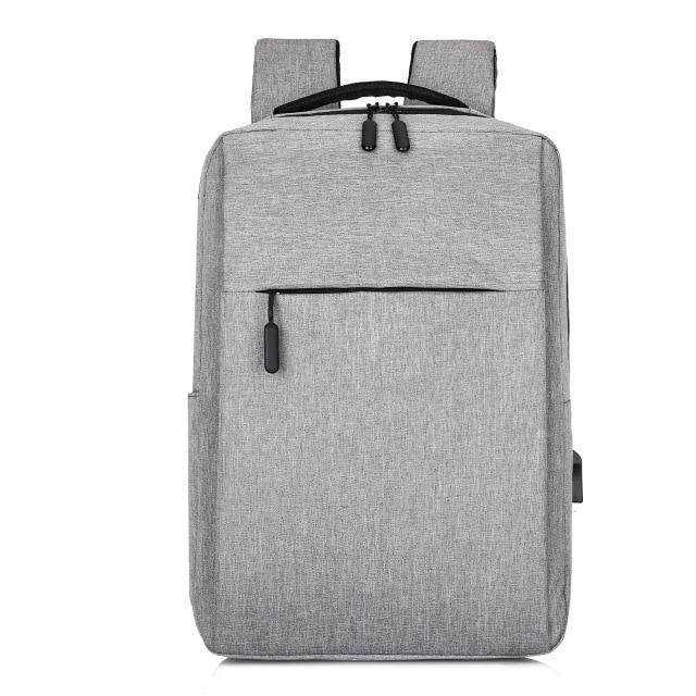 MRoyale™ Men's USB Charging Backpack Backpacks MRoyale™ Fashion Gray
