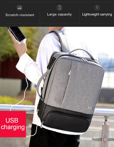 MRoyale™ Men's USB Charging Backpack With Shoe Storage Backpacks MRoyale™ Fashion