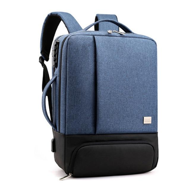 MRoyale™ Men's USB Charging Backpack With Shoe Storage Backpacks MRoyale™ Fashion blue 1 China