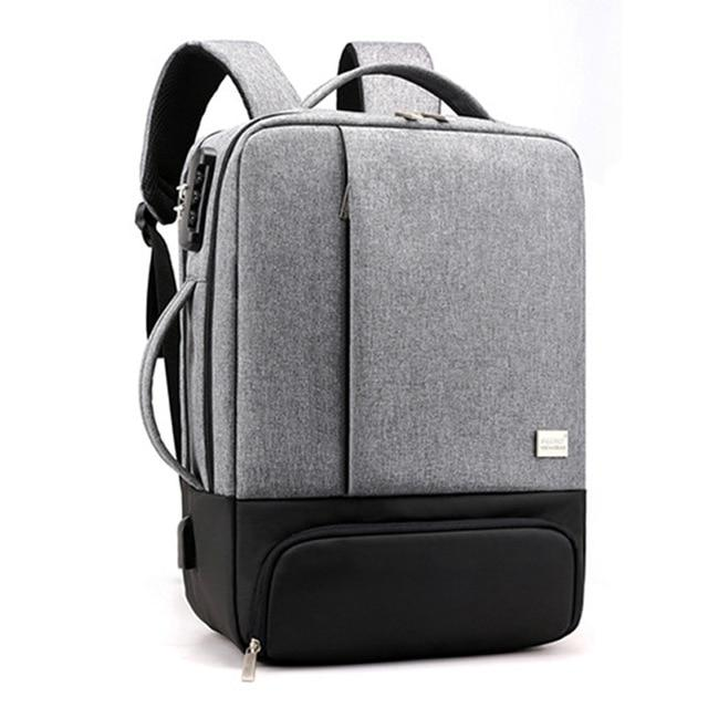 MRoyale™ Men's USB Charging Backpack With Shoe Storage Backpacks MRoyale™ Fashion gray 1 China