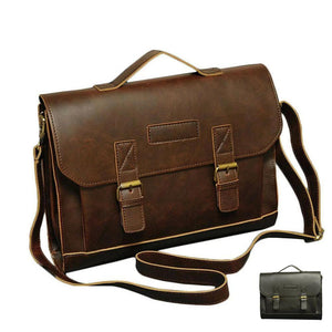 MRoyale™ Men's Vintage Crossbody Laptop Messenger LARGE Canvas Satchel Bag Crossbody Bags MRoyale™ Fashion