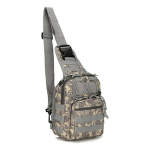 MRoyale™ Military Tactical Army Sling Chest Day Pack Shoulder Backpack crossbody bag MRoyale™ Fashion ACU