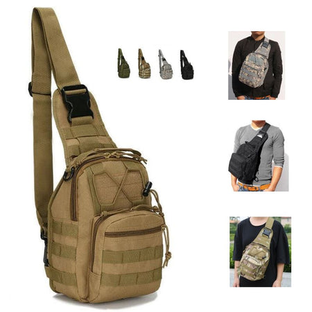 MROYALE™ Military Tactical Army Sling Chest Day Pack Shoulder Backpack tactical bag MRoyale™ Fashion