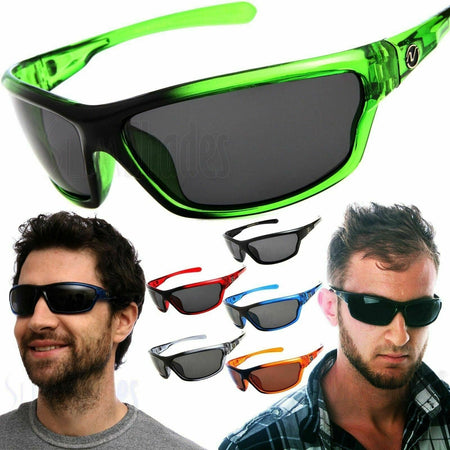 NGen™ Active Men's Sports Polarized Sunglasses sunglasses NGen™ Fashion Black - Blue Mirror Lens