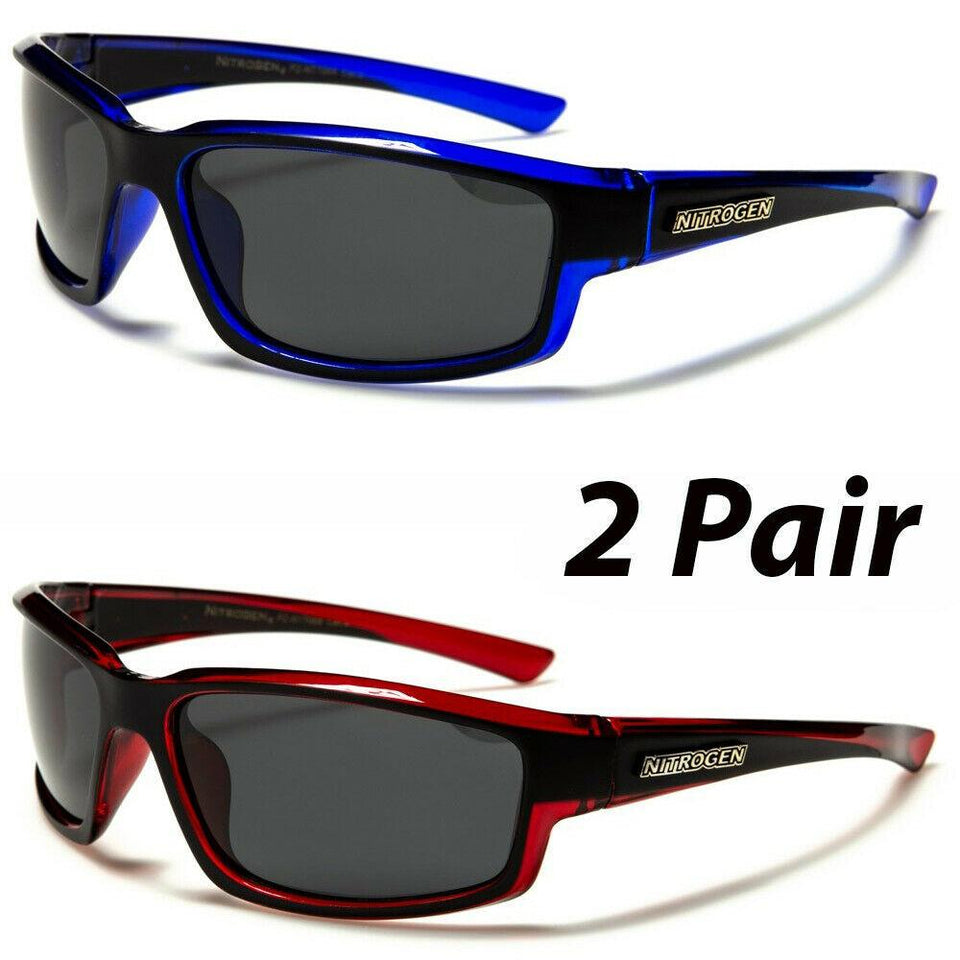 NGen™ Active Set Men's Sports Polarized Sunglasses sunglasses NGen™ Fashion 1 Blue 1 Red Nitro
