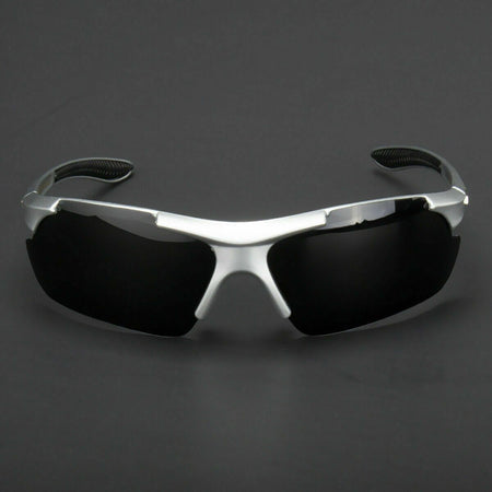 NGen™ Men's Sports Polarized Sunglasses sunglasses NGen™ Fashion Nitro Elite Silver