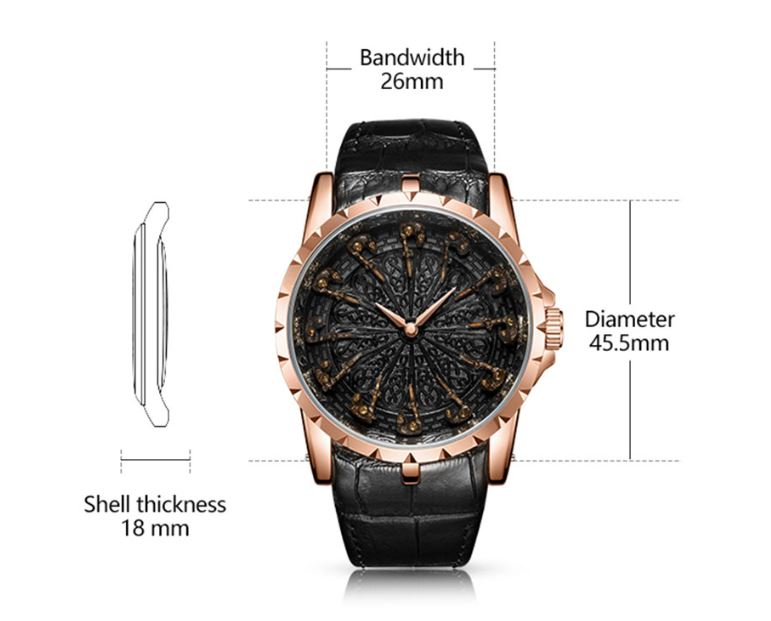 ONO™ Men's Stylish Leather Business Casual Watch Casual Watches ONO™ Fashion
